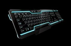 Razer TRON gaming keyboard......Board i really like and TRON is good but dont like Razer drivers.