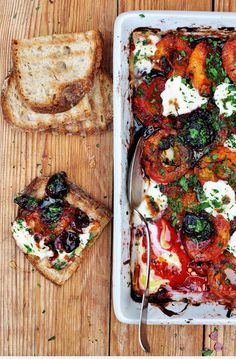 roasted tomatoes and olives