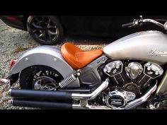 Hacker Custom Exhaust - 2015 Indian Scout Slip On Mufflers