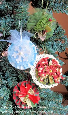 3d141 - YoYo Ornaments! – Paper Craft Planet