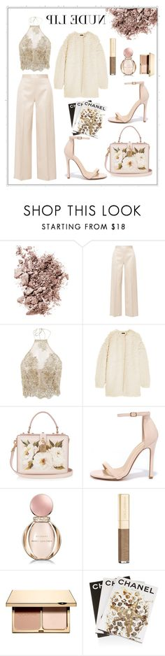 """NUDE"" by yolanda-nevia on Polyvore featuring beauty, Chantecaille, The Row, J.Crew, Dolce&Gabbana, Liliana, Bulgari, Clarins and Assouline Publishing"