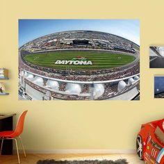 Fathead Daytona International Speedway Wide View Wall Mural - 17-00074