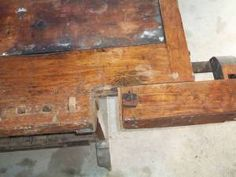 Combining a workbench with tool storage is always a balancing act. Here's a solution I have not seen in the wild (though some have proposed it). It's a workbench where the back half of the benchtop… Workbench Designs, Lost Art, Woodworking Bench, Tool Storage, Flipping, Work Benches, Top, Ideas, Working Tables