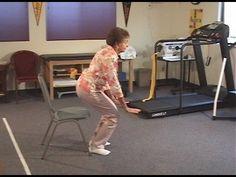 Hip Exercises For Seniors And The Elderly; Sit to Stand - Eldergym® Senior Fitness