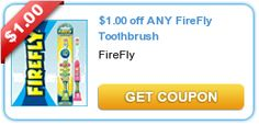 Kids' Flashing Firefly Toothbrushes Only $0.44 Each at Walmart!