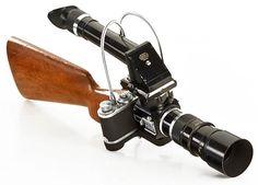 Leica Sniper – Un étonnant accessoire qui transforme votre appareil photo en fusil