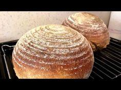 Postup na základní pšenično žitný kváskový chléb - YouTube Baguette, Baked Potato, Bread Recipes, Food And Drink, Baking, Pizza, Ethnic Recipes, Youtube, Music Converter