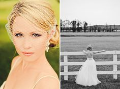 Want the white fence photo- Michigan Summer Wedding: Michelle + Dave
