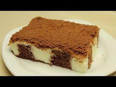 Gefüllter Kuchen Rezept - Kuchen mit Pudding füllung
