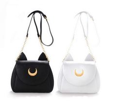 09025df999 Cat Ears Shoulder Bag - Pawsome Couture Bar Magic, Artemide, Pelle Bianca,  Borse