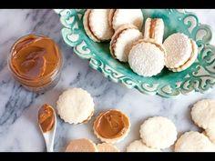 Alfajores (Dulce de Leche Shortbread Cookies) + Video - Muy Bueno Cookbook