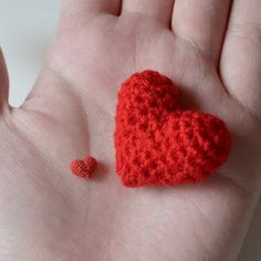 Kim Lapsley Crochets: My Tiny Heart