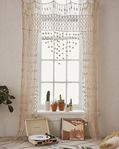 "3,405 Likes, 18 Comments - Urban Outfitters Home (@urbanoutfittershome) on Instagram: ""A very boho-chic addition to any space. Shop the Crochet Portal, SKU #39400767. ✨ #UOHome"""