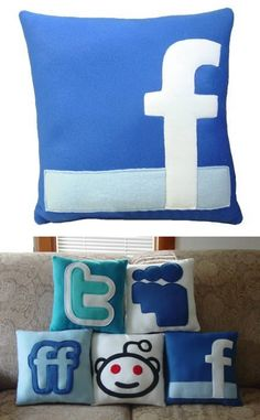 Social plush pillows