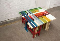 Colored pallet creation | 1001 Pallets