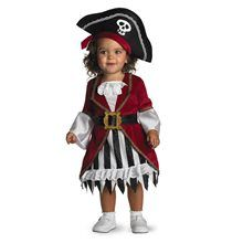 Too Cute To Spook Pirate Princess Infant Costume