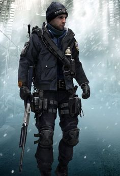 The Division Gear, Tom Clancy The Division, Character Concept, Concept Art, Apocalypse Survivor, Sci Fi Characters, Shadowrun, Military Art, Special Forces