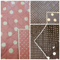 Cot quilts and king single quilts on sale & ONLINE NOW #cot #cotquilt #kingsingle #spots #neutral #nursery #nurserydecor #kidsroom #quilt #reversible #shop3280 by loveleelittleones