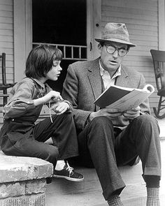 """""""There's too much risk in loving."""" The young boy said. """"No."""" Said the old man. """"There's too much risk in not."""" - Atticus Finch from To Kill A Mockingbird / Happy Father's Day!"""
