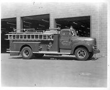 1958 International American LaFrance Fire Truck.