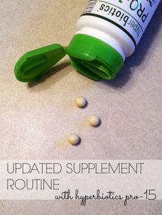 My Updated Supplement Routine