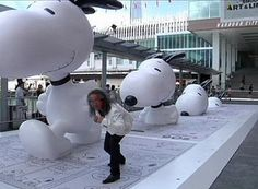 Featuring what is believed to be the world's tallest Snoopy statue, an art installation inspired by the famous Peanuts dog has made its debut in Hong ...