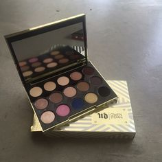 Urban Decay x Gwen Stefani Eyeshadow Palette Never been used limited edition eyeshadow palette. Was a Christmas gift but I don't wear eyeshadow.  authentic. Comes with Gwen Stefani lipstick samples. Urban Decay Makeup Eyeshadow