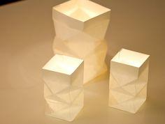 Papierlaterne falten