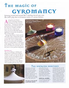 The magic of Gyromancy