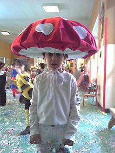 Costume mushroom  autrice Nadia