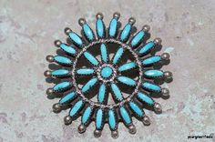 Vintage 1970 Signed Zuni Sterling Silver by Yourgreatfinds on Etsy, $95.00