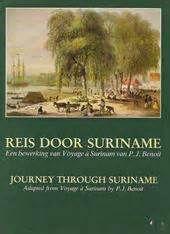 P. Benoit - Reis door Suriname (boek met 100 tekeningen en beschrijvingen)