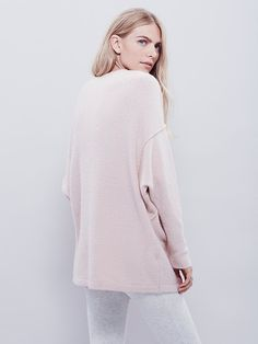 "Free People Softly Vee Sweater, $118.00 LOVE in ""ballet"" color Size: XS"
