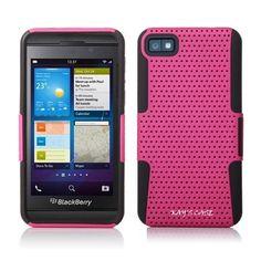 KaysCase SafeNet Heavy Duty Cover Case for RIM BlackBerry Z10 (Pink)