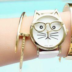 CAT WATCH WHITE 2016
