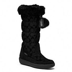 Theona Boot LOOK CUTE IN THE SNOW IN COACH BOOTS!!
