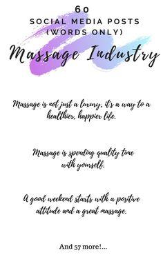 Massage Therapy School, Good Morning Massage, Massage Marketing, Medical Massage, Lymphatic Drainage Massage, Massage Quotes, Sports Therapy, Massage Business, Massage Parlors