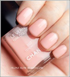 Chanel Le Vernis Nail Color 507 Tendresse