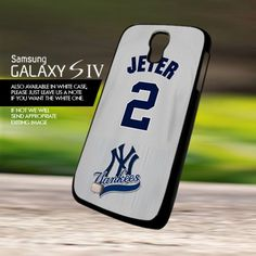 Jeter 2 New York Yankee NY - For Samsung Galaxy S4 Case Cover | onlinecustomshop - Accessories on ArtFire