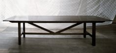The Canteen Table- original finish
