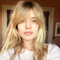 Georgia May Jagger 2016 #fringe #hairinspo