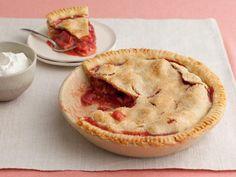 What's baking? Grandma's Strawberry-Rhubarb Pie!