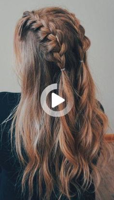 The Best Hair Braid Styles Hey girls! Today we are going to talk about those gorgeous braid styles. I will show you the best and trendy hair braid styles with some video tutorials. Cool Braid Hairstyles, Formal Hairstyles, Hairstyle Ideas, Wedding Hairstyles, Popular Hairstyles, Holiday Hairstyles, Bridal Hairstyle, Amazing Hairstyles, Latest Hairstyles