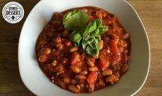 Auch Cowboys können Veganer sein – mit so einem Bohneneintopf mit Tomatensauce