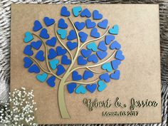 Wedding guest book, Alternative wedding guest book Wedding tree guest book 3D Rustic guest book Hearts wood guest book Custom guest book, 01 by FranJohnsonHouse on Etsy https://www.etsy.com/listing/499583586/wedding-guest-book-alternative-wedding