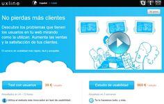 Uxline #Eurekas! Servicio de usabilidad más rápido, fácil y asequible