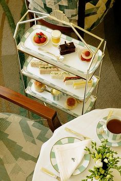 Afternoon Tea in the Reading Room | Claridge's | London