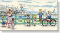 Coming into dock Crochet Edging Patterns, Cross Stitch Collection, Dmc, Chart, Embroidery, Pictures, Painting, Transportation, Cupcakes
