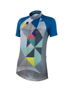 Geometric Jersey by Katherine Hall Women's   Artist-Inspired Cycling Apparel   Pactimo