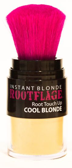 ROOTFLAGE COOL BLONDE TEMPORARY ROOT TOUCH UP UP IS A MUST HAVE FOR BLONDE HAIR MAINTENANCE. CAMOUFLAGE YOUR DARK OR GRAY ROOTS IN 30 SECONDS WITH INSTANT BLONDE COLOR THAT WONT DAMAGE YOUR HAIR.